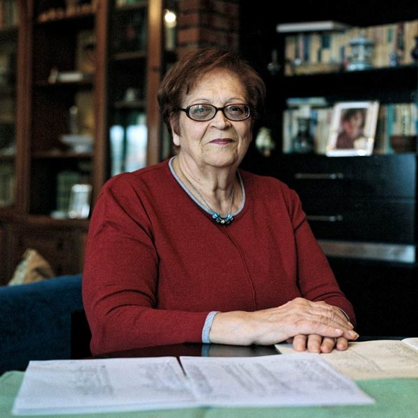 Gustavo Alàbiso - Immagina Riesi Cesarina Conti, unsere Klassenlehrerin, Riesi, 2017