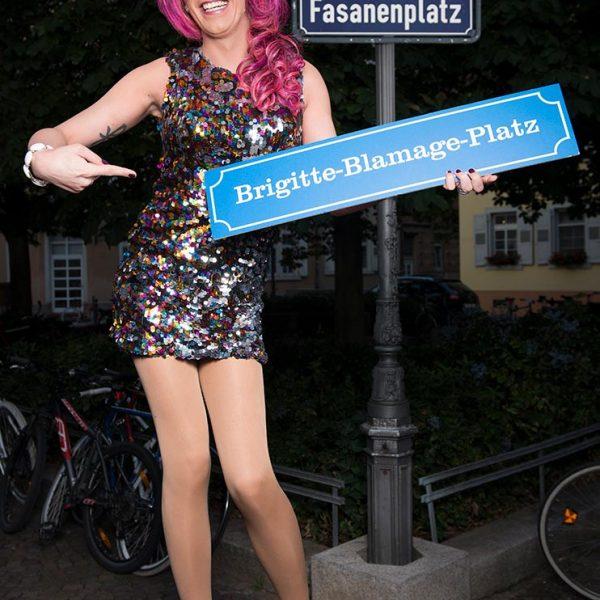Gustavo Alàbiso - 300 X Karlsruhe Dragqueen Brigitte Blamage