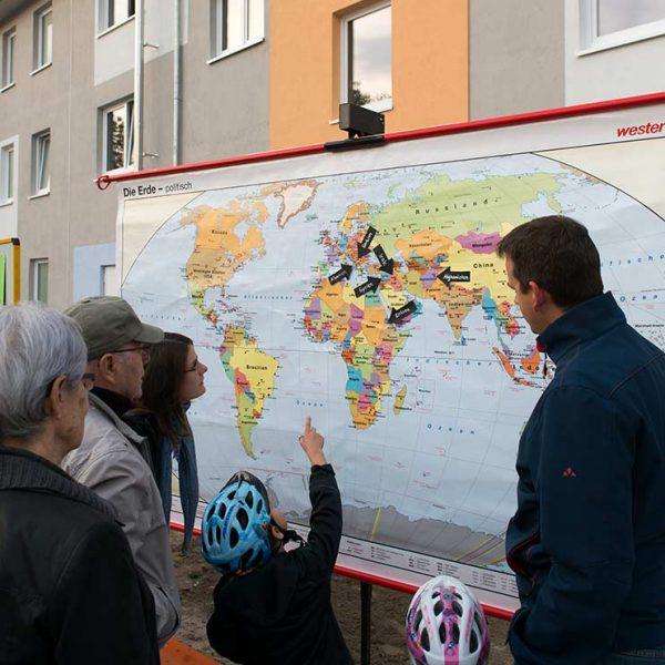 Wege nach Deutschland, Flüchtlingsunterkunft © Gustavo Alàbiso
