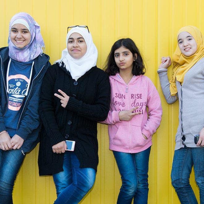 Wege nach Deutschland, Mädchen aus Syrien © Gustavo Alàbiso