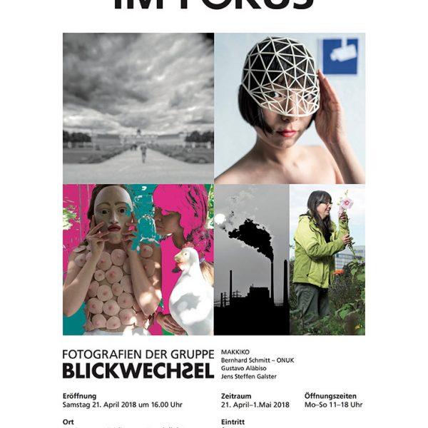 Gustavo Alàbiso - Revolution Blickwechsel Kultur Plakat